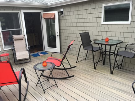 Harwich Port Cape Cod vacation rental - Large Private Deck