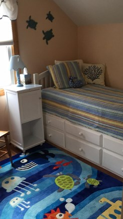 Harwich Port Cape Cod vacation rental - Single bed with trundle