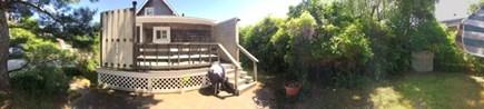Onset MA vacation rental - Backyard