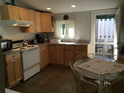Onset MA vacation rental - Kitchen and dining area