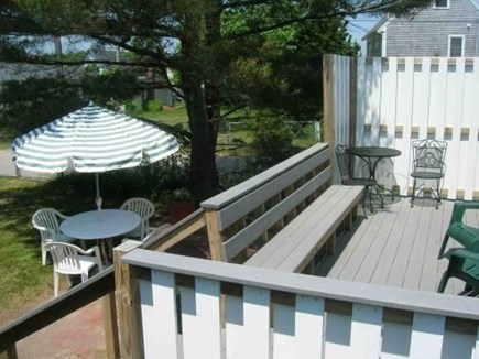 Onset MA vacation rental - Back yard and deck
