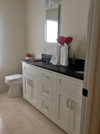 Mashpee / Popponesset Cape Cod vacation rental - On-suite bath in master bedroom.