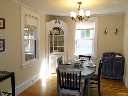 Bourne, Buzzards Bay Cape Cod vacation rental - Attractive dining area, opens to kitchen