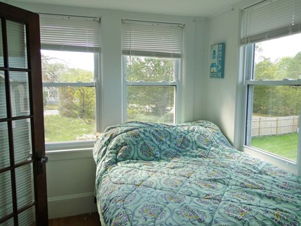 Bourne, Buzzards Bay Cape Cod vacation rental - First floor bedroom with full and twin bunk beds