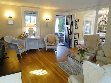 Bourne, Buzzards Bay Cape Cod vacation rental - Living area with flat screen TV