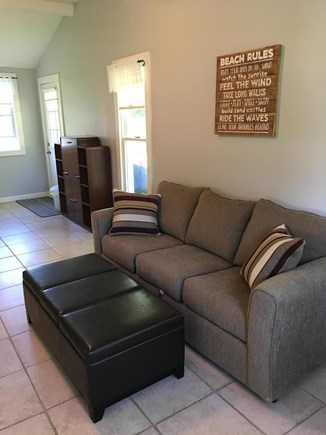 South Yarmouth Cape Cod vacation rental - Large game room for hanging out and sleeping on queen sleeper