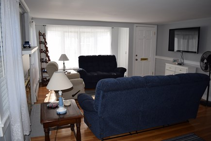 South Yarmouth Cape Cod vacation rental - Comfortable living room with reclining couch, love seat and chair