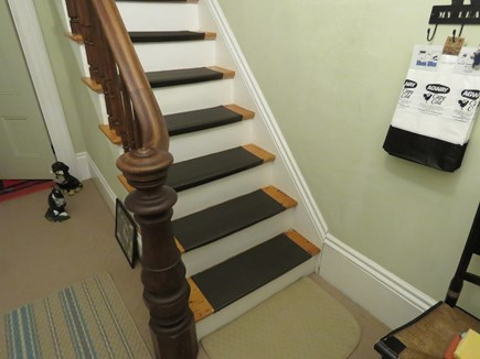 Eastham Cape Cod vacation rental - The stairs up to the apartment inside the private entrance