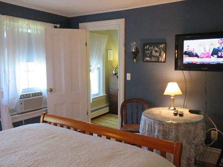 Eastham Cape Cod vacation rental - HD television and view to hallway from master bedroom