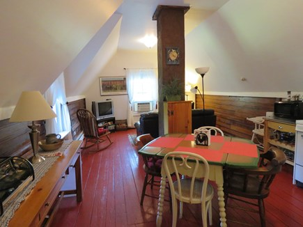 Eastham Cape Cod vacation rental - the living room /kitchen/dining area