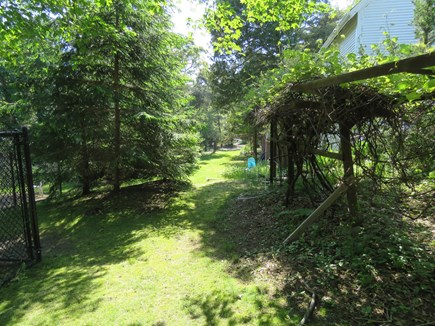 Eastham Cape Cod vacation rental - You can bike or hike to the bike trail from the back of property