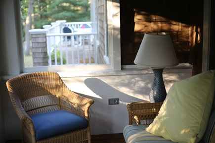 No. Falmouth Cape Cod vacation rental - Reading Nook/Front Porch