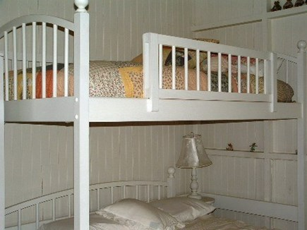 No. Falmouth Cape Cod vacation rental - White and Bright Bunkroom