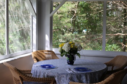 No. Falmouth Cape Cod vacation rental - Dining Area for Family Meals
