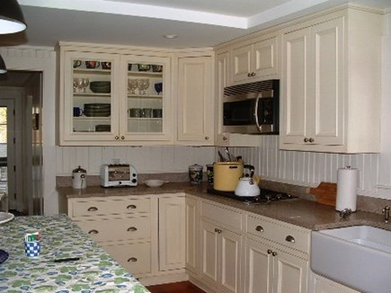 No. Falmouth Cape Cod vacation rental - Updated Kitchen with Farmer's Sink