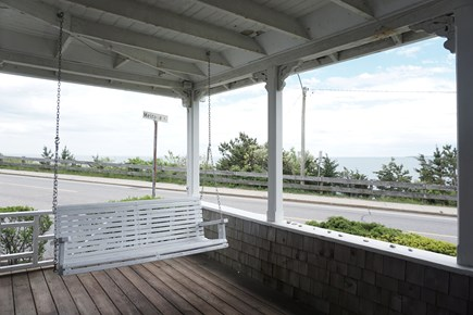 Falmouth Cape Cod vacation rental - Lovely Open Air  Porch with Swing
