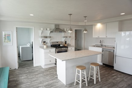 Falmouth Cape Cod vacation rental - Plenty of Seating at Kitchen Island