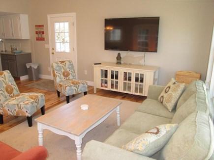 DennisPort Cape Cod vacation rental - Sunroom - HDTV #1 60inch  - Smart TV to stream