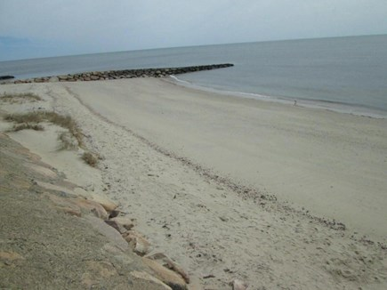 DennisPort Cape Cod vacation rental - Walk to Haigis Beach - feels private since it is so quiet.