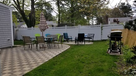 DennisPort Cape Cod vacation rental - Backyard for relaxation