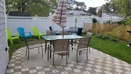 DennisPort Cape Cod vacation rental - Backyard for relaxation