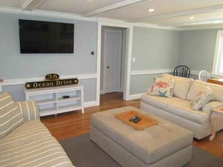 DennisPort Cape Cod vacation rental - HDTV #2 50 inch in living room