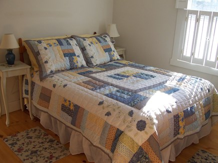 Eastham Cape Cod vacation rental - Full Room on main floor with dresser, closet & wicker chair