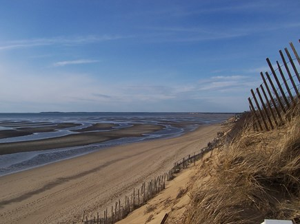 Eastham Cape Cod vacation rental - View from deeded access beach looking toward Campground Beach