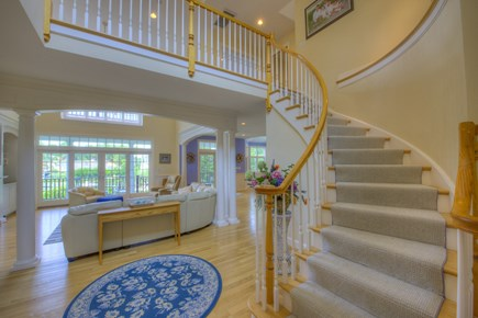 New Seabury, Mashpee New Seabury vacation rental - Foyer and staircase