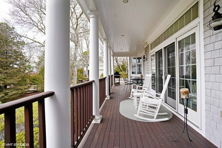 New Seabury, Mashpee New Seabury vacation rental - Covered porch