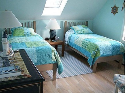 Truro Cape Cod vacation rental - 2nd Floor Twin Beds *Twin Futon (not in picture)