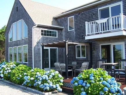 Truro Cape Cod vacation rental - Exterior with Canopy Gazebo, Stone Patio and Stainless Grill