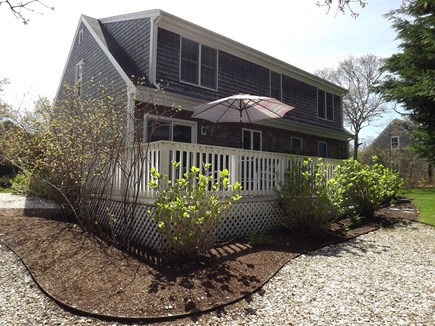 Chatham Cape Cod vacation rental - View of back of house and porch