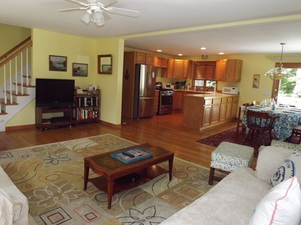 Chatham Cape Cod vacation rental - First floor has open floor plan