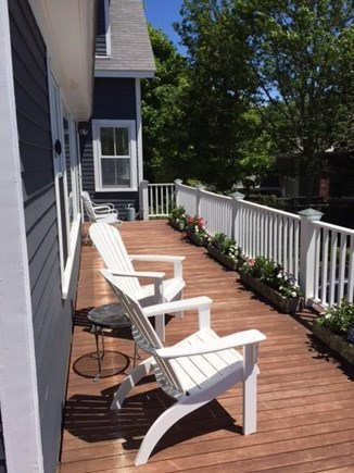 Cotuit Cotuit vacation rental - Deck overlooking Cotuit Bay