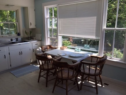 Cotuit Cotuit vacation rental - Eat-in Kitchen with water view