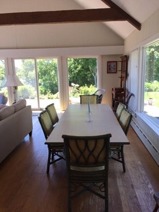 Cotuit Cotuit vacation rental - Dining table seats 6