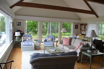 Cotuit Cotuit vacation rental - Great room living and dining area, overlooking Cotuit Bay