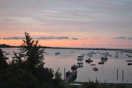 Cotuit Cotuit vacation rental - Evening sunset from the patio