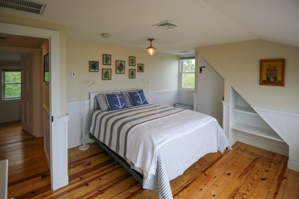 South Chatham Cape Cod vacation rental - Bedroom #1 with a queen bed and waterviews