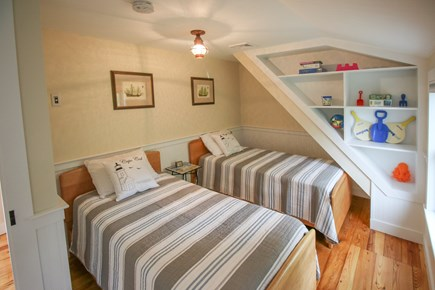 South Chatham Cape Cod vacation rental - Bedroom #3 with 2 twin beds