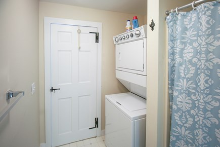South Chatham Cape Cod vacation rental - First floor bathroom with shower and laundry