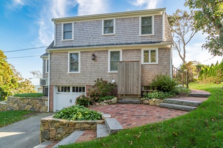 South Chatham Cape Cod vacation rental - Back of the cottage