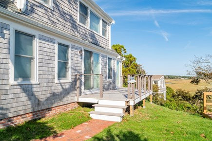 South Chatham Cape Cod vacation rental - Deck that overlooks the water
