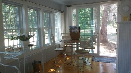 Harwich, Pleasant Beach Cape Cod vacation rental - The perfect spot to enjoy your morning coffee and plan your day