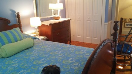 Harwich, Pleasant Beach Cape Cod vacation rental - Master bedroom beautifully decorated