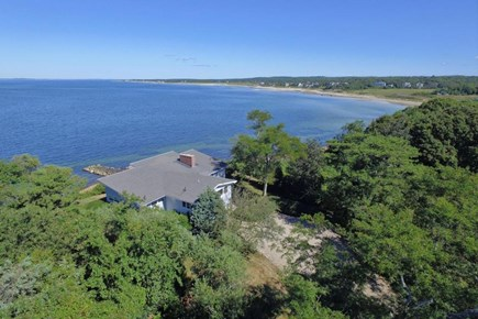 Falmouth Cape Cod vacation rental - Aerial view of house
