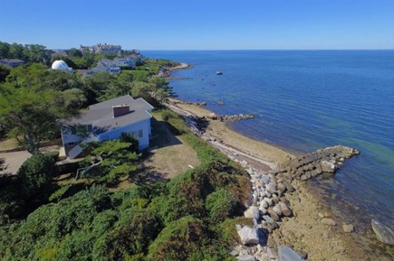 Falmouth Cape Cod vacation rental - Aerial view facing southwest