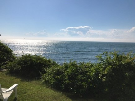 Falmouth Cape Cod vacation rental - Backyard view
