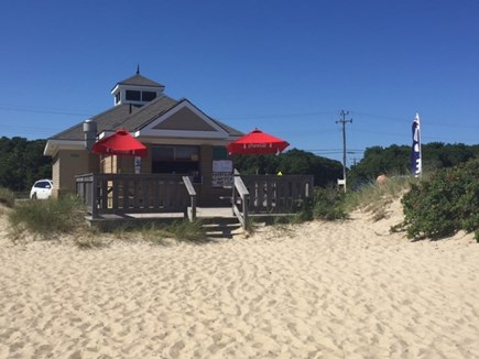 South Yarmouth Cape Cod vacation rental - Snack Bar and rest rooms at Parker River Beach